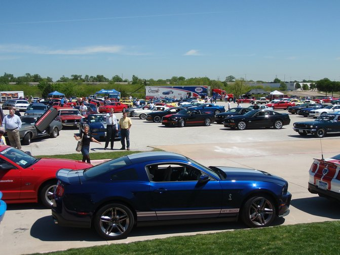 Drivers Blog: Vaughn Gittin Jr>> Mustang 45thAnniversary