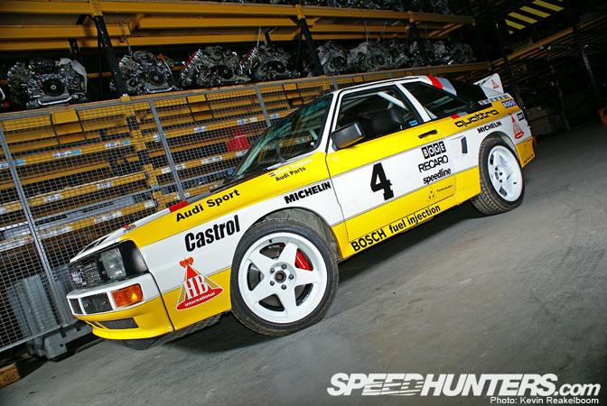 Car Feature>> Quattro RallyReplica