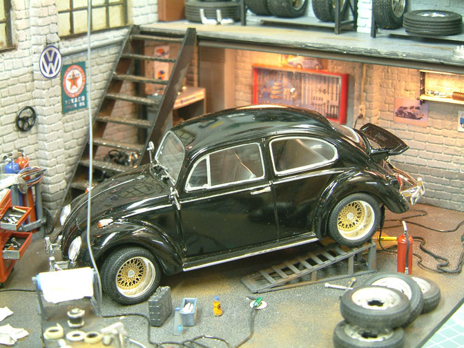 Model cars diorama heaven speedhunters for Credit auto garage volkswagen