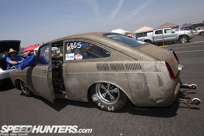 In case you haven't got your fix of Cal-Lookers, Volksrods, rat VW's ...