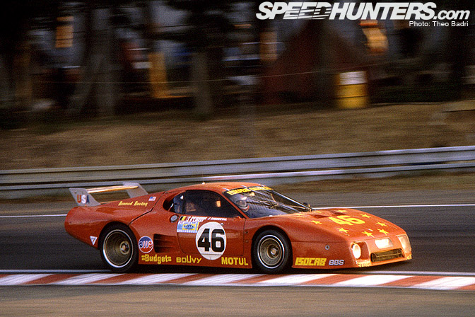 Retrospective>>  The Ferrari 512 Bb Lm At Lemans