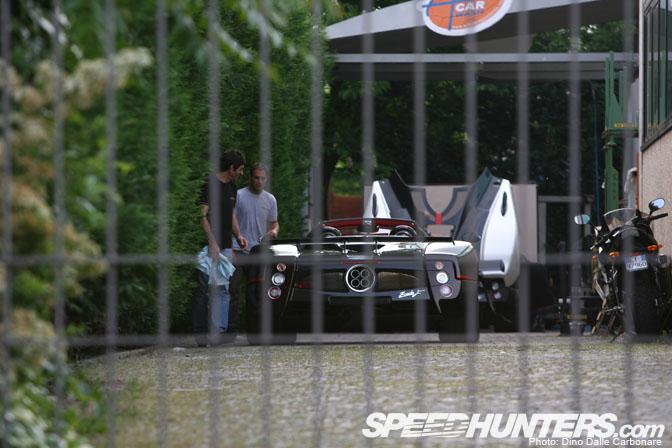 Car Builder>> Pagani Factory TourPt.1