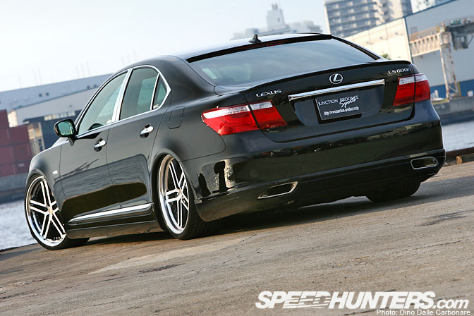 Car Feature Gt Gt Junction Produce Lexus Ls460 Speedhunters