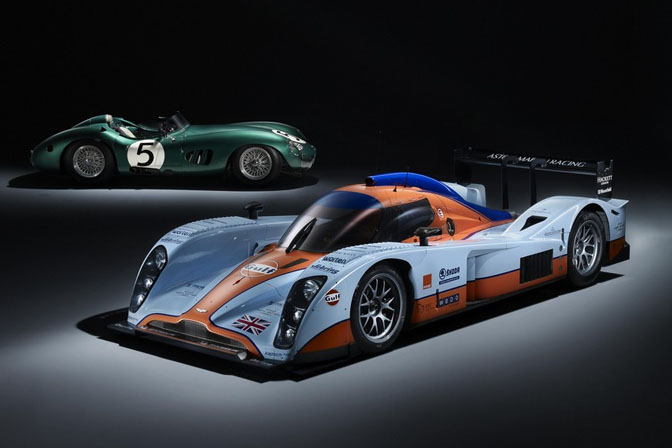 Random Snap>> Aston Martin Racing, 50 Years Apart