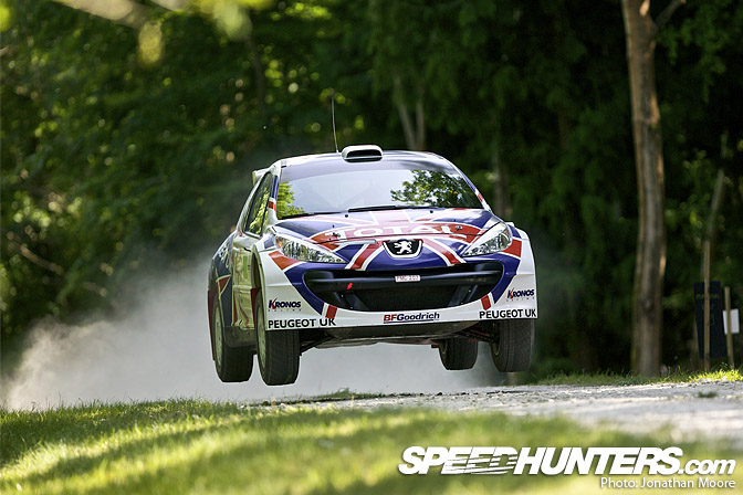 Event>> Goodwood Forest RallyStage