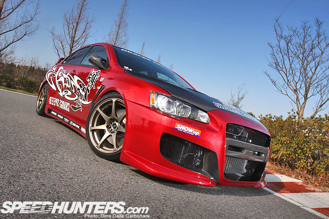 Car Feature>> Charge Speed EvoX