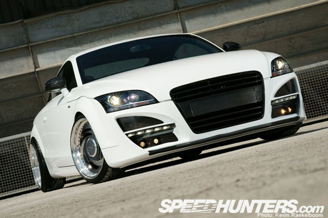 Car Feature>> Flush Audi Tt2s