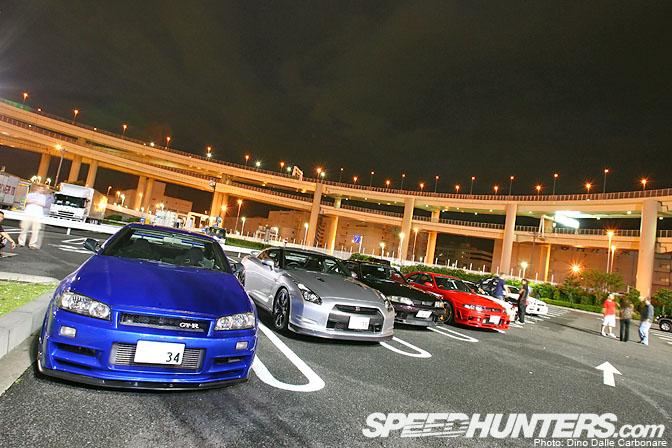 Car Life>> Gt-r Meeting @Daikoku