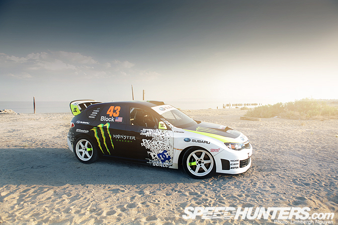 Car Feature>> Ken Block, The Subaru, & TheSea