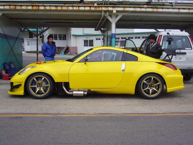 Car Feature>> Jun Awd Hyper Lemon 350zR