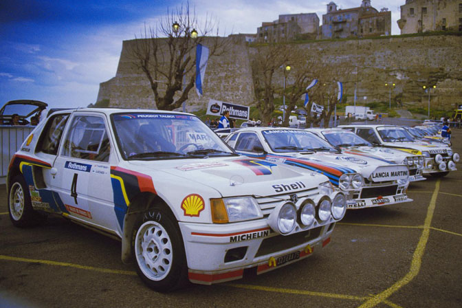 Retrospective>>the Cars Of Group B Rallying