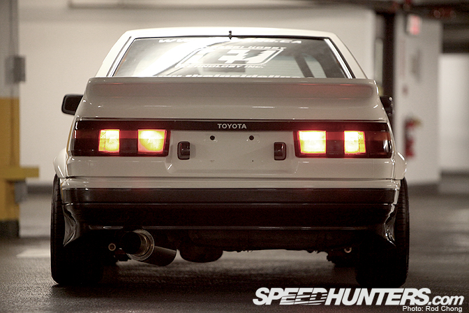 Guest Blog: Terry Chui>> The Stage Five Ae86