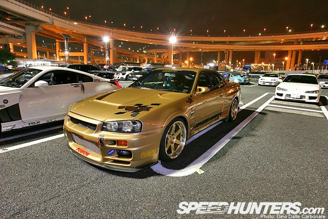 Car Life>> Daikoku On A WednesdayNight