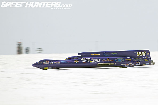 Car Feature>>royal Purple #998 Streamliner
