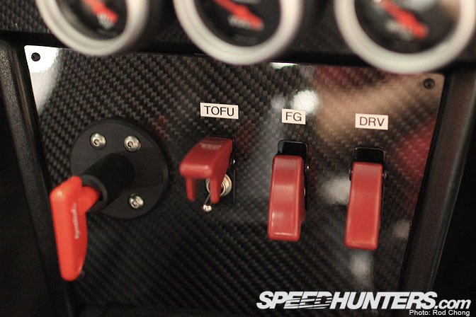 guest blog terry chui>> the stage five ae speedhunters i added this carbon panel to capture the race car feel like something from the jgtc or ae86 cup cars there s an ignited battery kill switch and a few