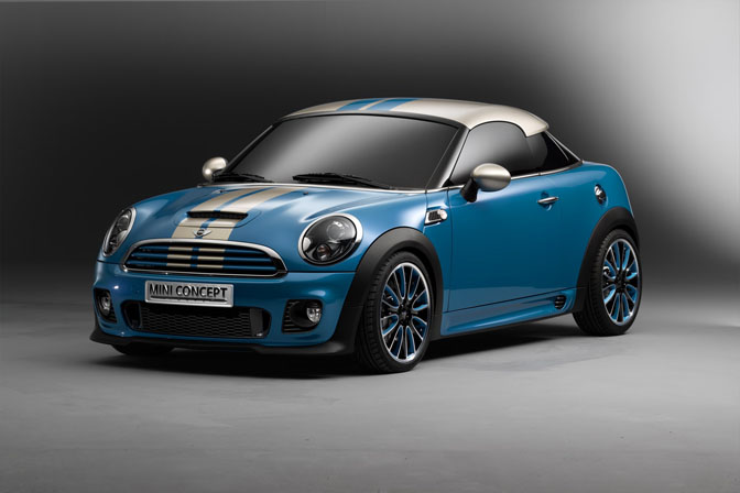 New Cars>>the Mini Coupe Concept