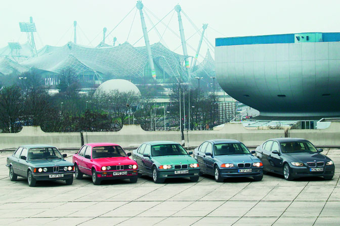 Retrospective>>the Bmw 3-series
