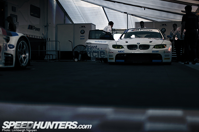 Gallery>> The Bmw Clean Lab @ Petit Le Mans