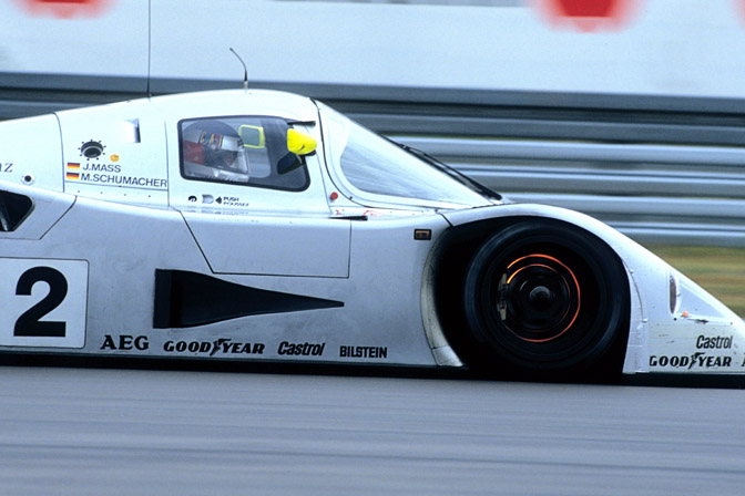Retrospective>> Schumacher And The MercedesC291