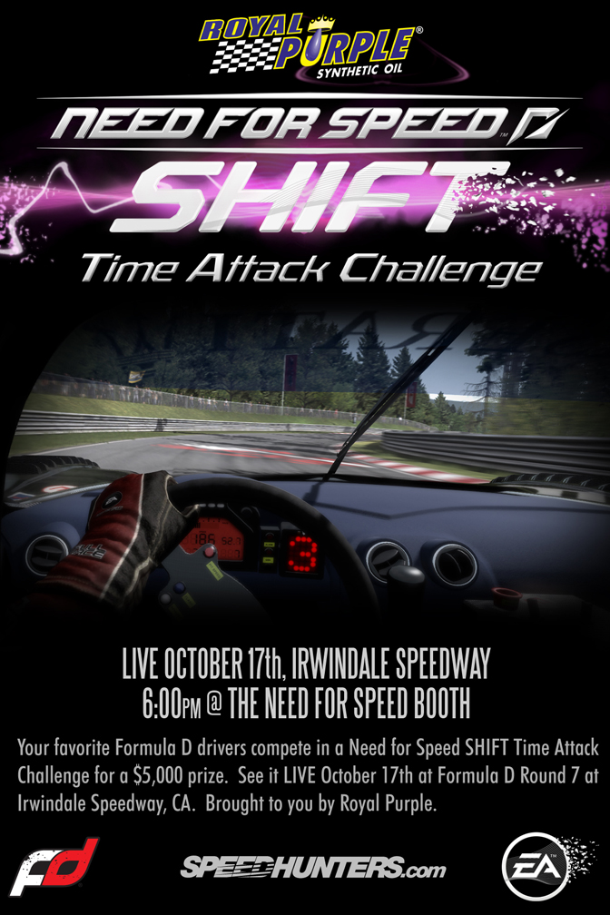 Need For Speed Shift>> Rp Time Attack Challenge @Irwindale