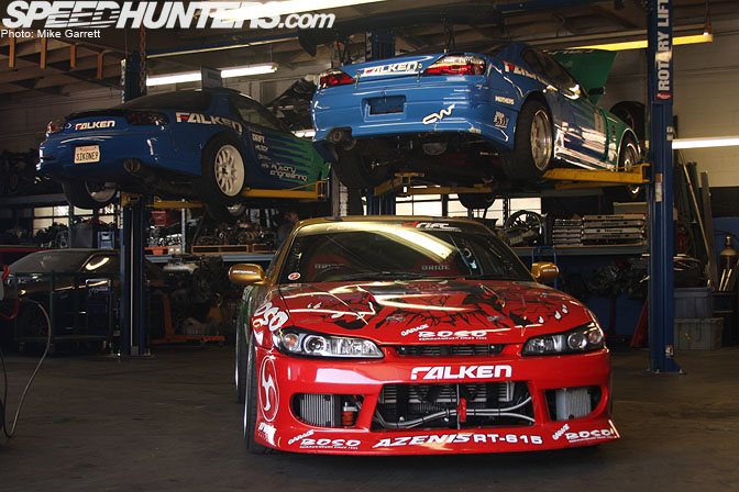 car feature the garage boso s15 speedhunters. Black Bedroom Furniture Sets. Home Design Ideas