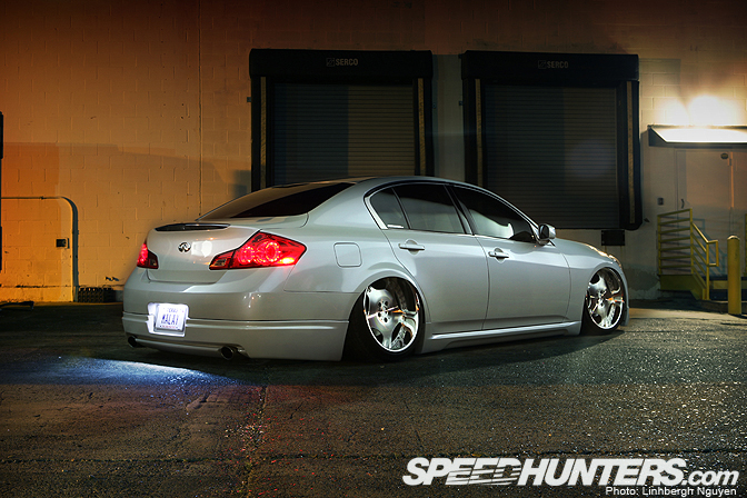 Car Feature>> Zeem's Scraping Infiniti