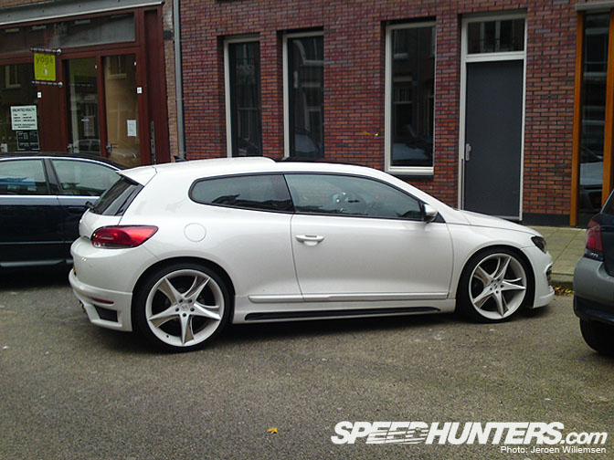 Car Sighting>> Scirocco ByRieger