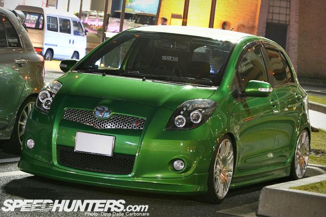 Random Snap>> Slammed ToyotaVitz