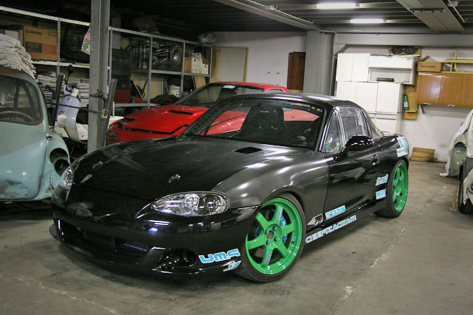 Car Spotlight>> Drift Miata FromItaly