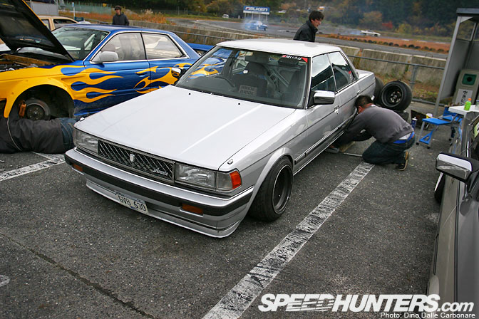 Car Spotlight>> Garage Wing Gx71 2jz Chaser