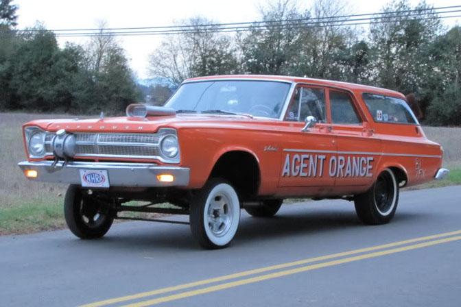 Car Spotlight>>plymouth WagonGasser