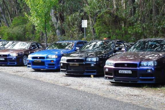 Guest Blog: Nick Galvin>> A R34 Gt-r Anniversary Cruise