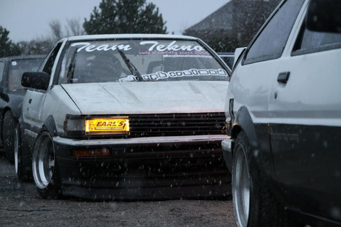 Random Snap>> Ae86 In The Snow