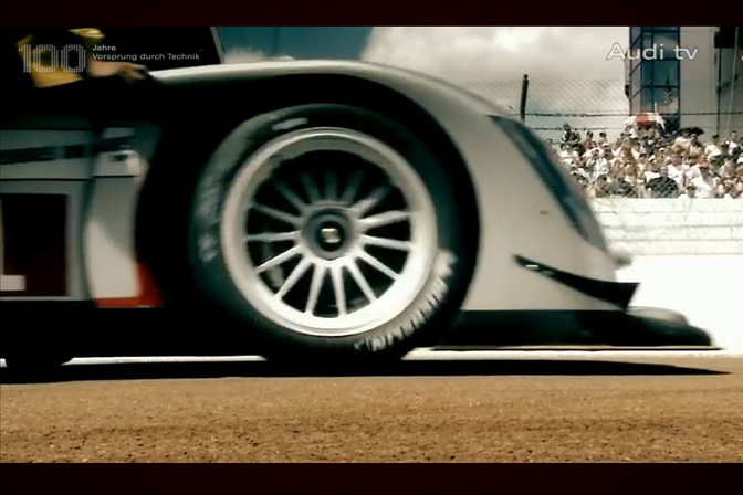 Video Roll>> Audi At 2009 Le Mans