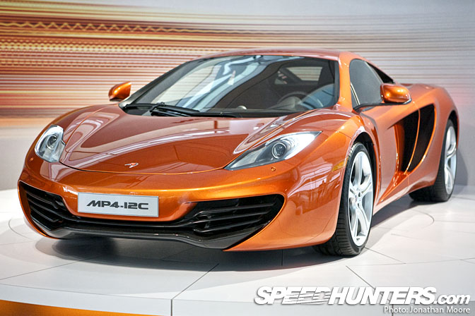 Event>> Mclaren Mp4-12c Launch
