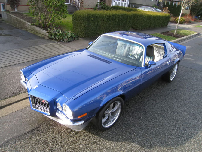 Guest Blog: Scott Murray>> Mark's '71 Camaro Rs Z28