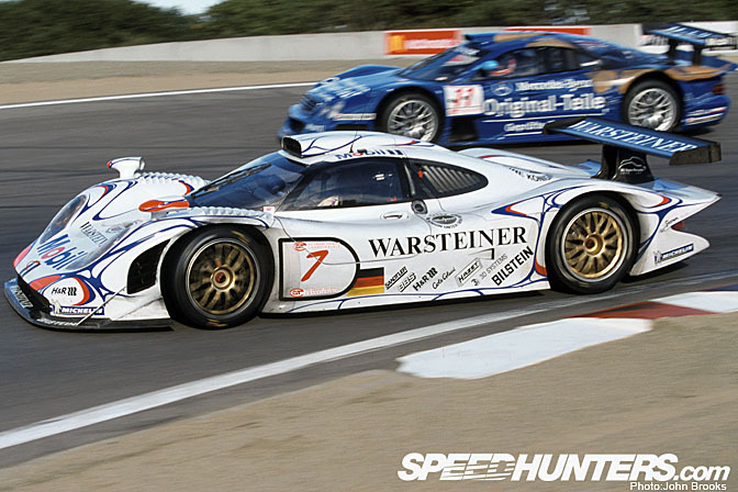 retrospective porsche 911 gt1 98 speedhunters. Black Bedroom Furniture Sets. Home Design Ideas