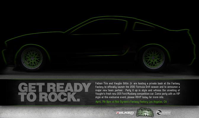 Giveaway>>vaughn Gittin's 2010 Car UnveilingParty!