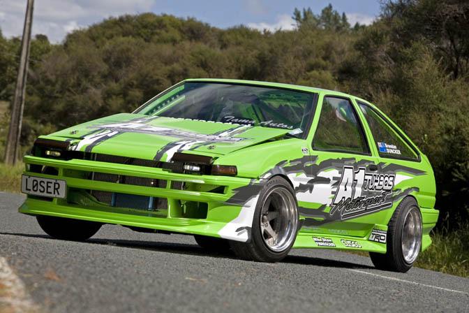 Driver Blog: Mad Mike>> Kiwi StyleHachi
