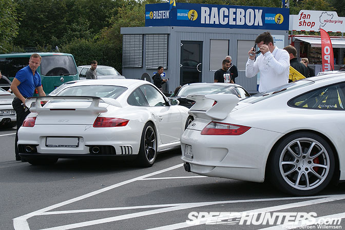 Gallery>> NÜrburgring Parking Lot Pt.ii