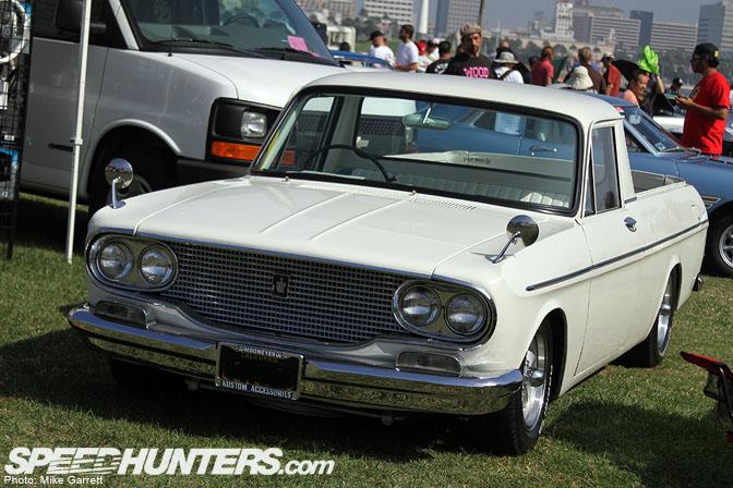 Car Spotlight>>mooneyes Crown Pickup @Jccs
