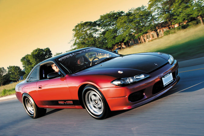 Magazine Blog: Modified>> 9-sec S14 Nissan 240sx