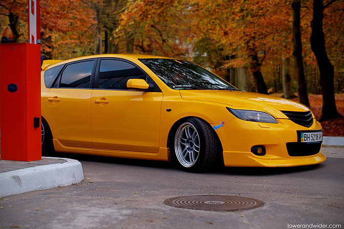 Car Spotlight>> Ukrainian Mazda 3