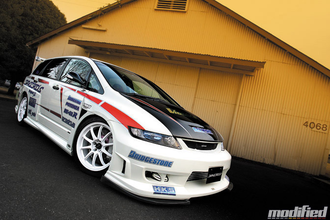 Magazine Blog: Modified>> Takero's Honda Odyssey