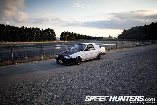 Car Spotlight>> Ae86 At FujiSpeedway