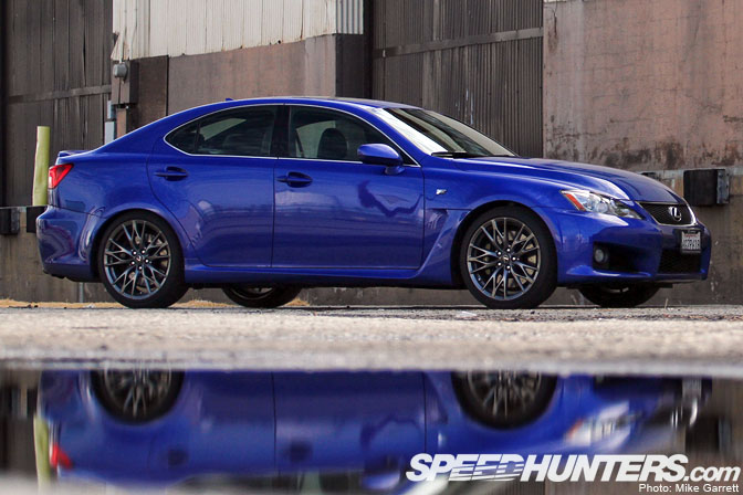 Driving Impressions>>the Lexus Is F