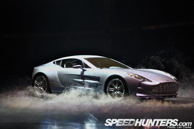 Car Spotlight >> Aston Martin One-77 Japan Launch