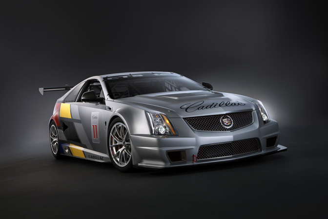 News>>cadillac Cts-v Coupe Race CarUnveiled