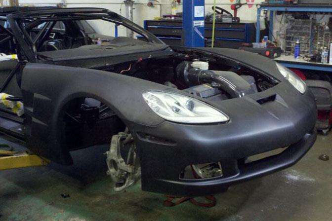 Builds>>the Blu808 C6 Corvette DriftCar