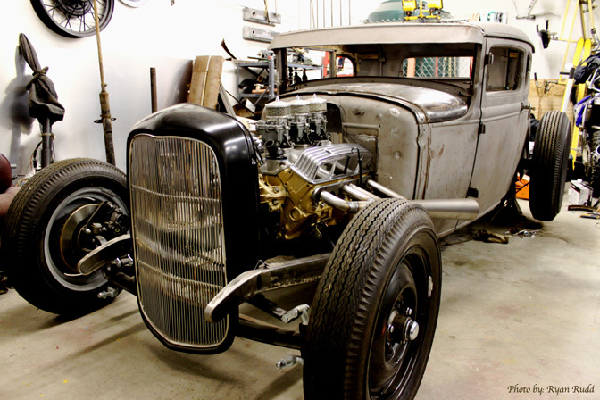 Builds>> Wayne Hamil's Ford Model A
